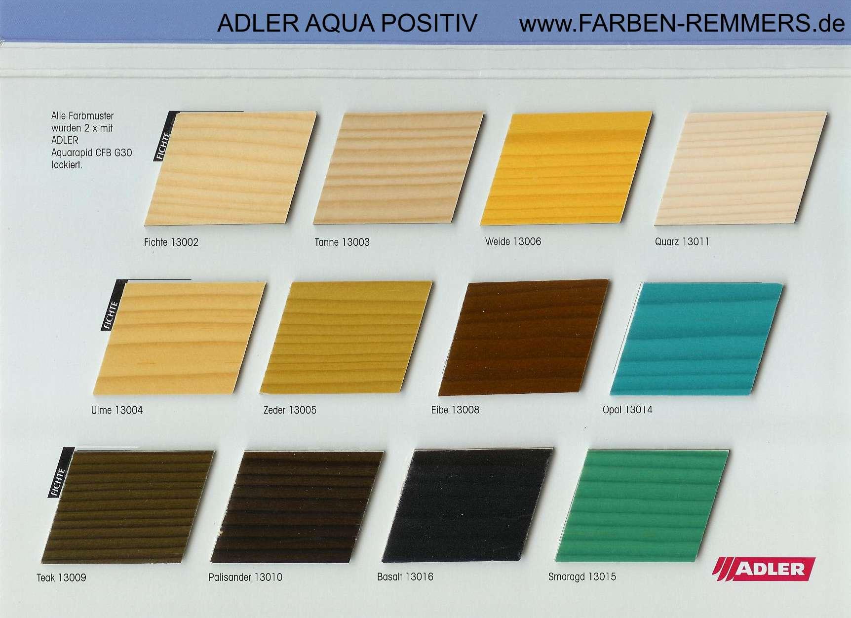 adler aqua-positiv wasserbeizen - www.farben-remmers.de